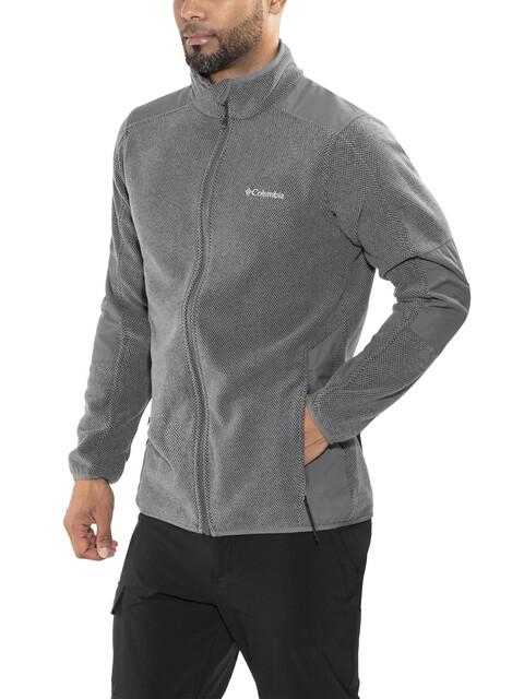 Columbia Tough Hiker Full Zip Fleece Jacket Mens Graphite